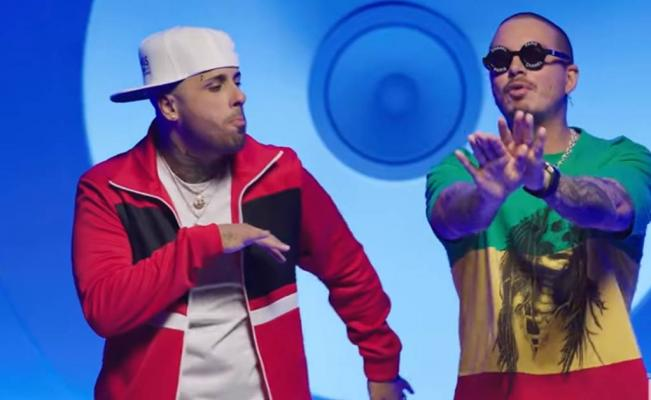 ¡Imparables!, Nicky Jam y J. Balvin baten récord en YouTube